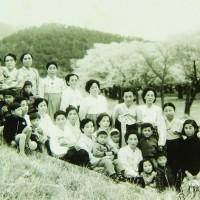 재마산동창회 야유회 1959